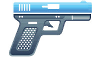 semi automatic pistol 001