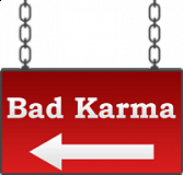 bad karma sign 01